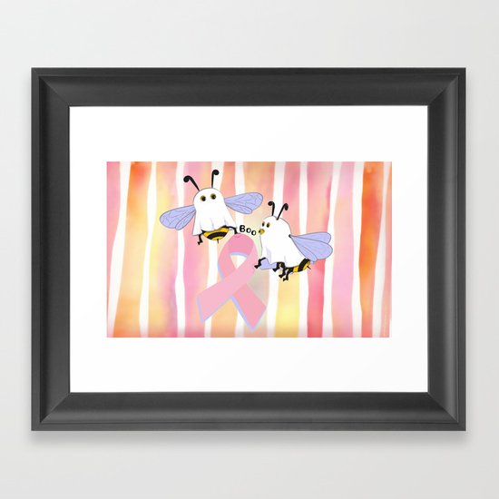 Flight of the Boobee Framed Art Print