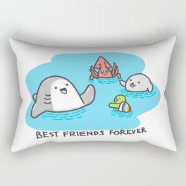 Best Friends Forever Rectangular Pillow
