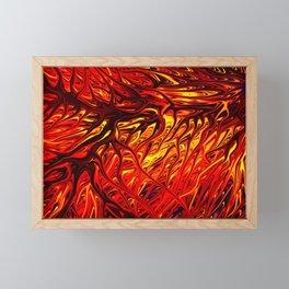 Molten Firegrass V by Chris Sparks Framed Mini Art Print