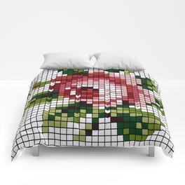 Shabby Chic Rose Comforters
