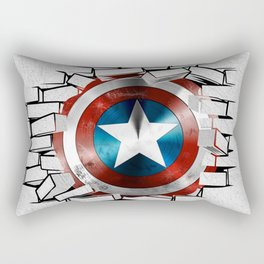 Break Captain! Rectangular Pillow