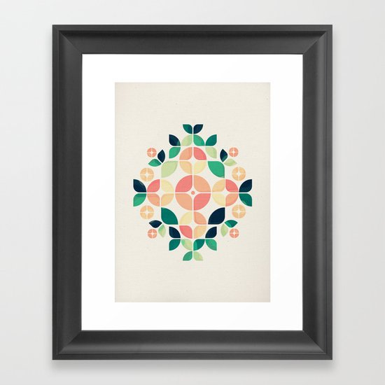 The Bouquet Framed Art Print