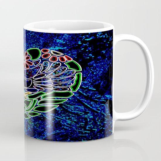 Gothic Bird in Heart Mug