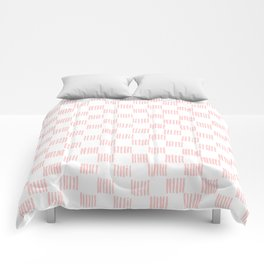 Hatch marks in Pink Comforters