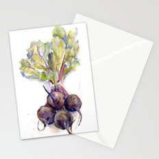 Purple Beets Stationery Cards