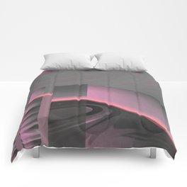 Claraboya, Geodesic Habitacle, Pink neon room Comforters
