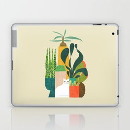 Still life with cat Laptop & iPad Skin