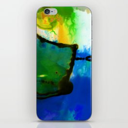 Abstract Bliss 4I by Kathy Morton Stanion iPhone Skin
