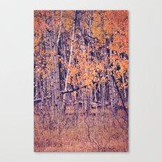 Autumn Orange I Canvas Print