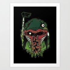 Monster Fett Art Print