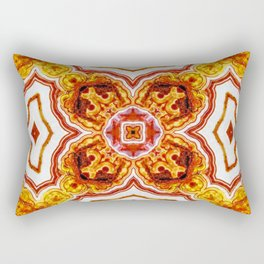 India Print Three Rectangular Pillow