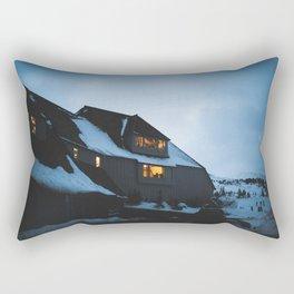 Timberline Lodge Glow Rectangular Pillow