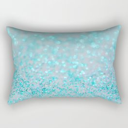 Sweetly Aqua Rectangular Pillow