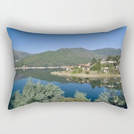 Canicada lake in Northern Portugal Rectangular Pillow