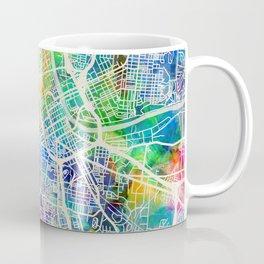Nashville Tennessee City Map Coffee Mug