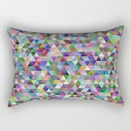Happy triangle pattern Rectangular Pillow