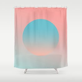 Sunrise Abstract Shower Curtain