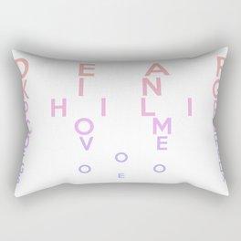 Dear King Philip Come Over For Good Sex Rectangular Pillow