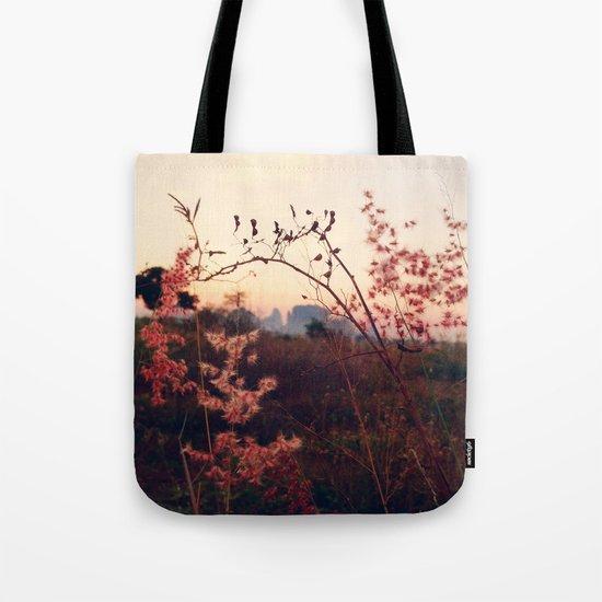 Desert Sakura Tote Bag
