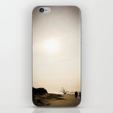Stroll along the Beach iPhone & iPod Skin
