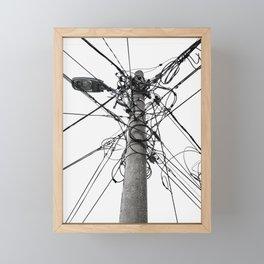 Electrica Paranormal Framed Mini Art Print
