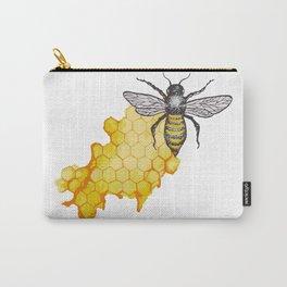lamieldelojo. honey bee Carry-All Pouch