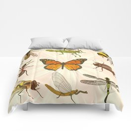 Insects on Parade Comforters