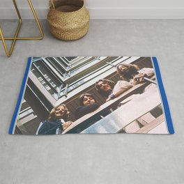 1967 - 1970 The Blue Album by The Fab Four Rug