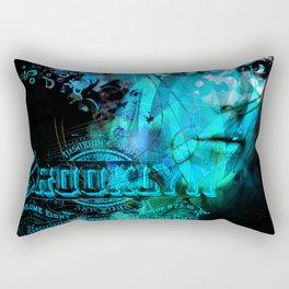 Brooklyn Blue Rectangular Pillow