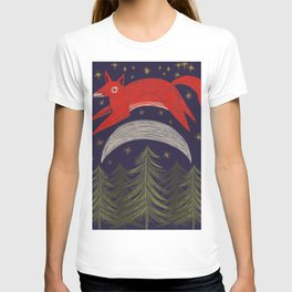 The Fox Jumped Over the Moon T-shirt