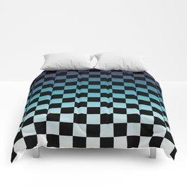 Chessboard Gradient III Comforters