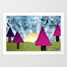 Fantasy Landscape Art Print