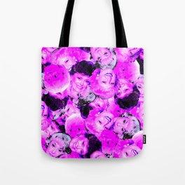 Golden Girls Toss in Electric Pop Pink Tote Bag