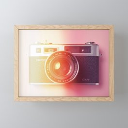 #02_Yashica electro 35#film#effect Framed Mini Art Print