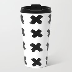 Crosses Metal Travel Mug
