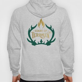 Court of Terrasen Book Quote Hoody