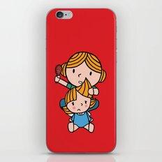 mom & daughter iPhone & iPod Skin