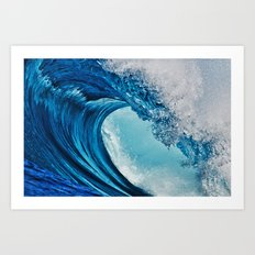 Indonesian Wavescape Art Print