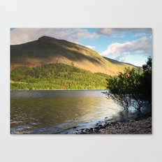 Thirlmere and Brown Crag Canvas Print
