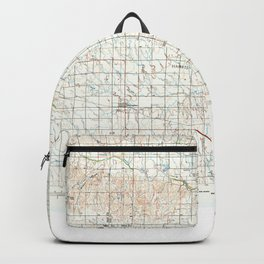 KS Hays 801600 1985 topographic map Backpack