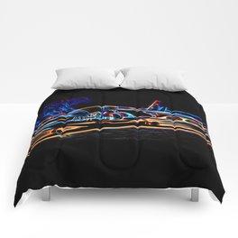 Neon Jet Comforters