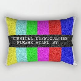 Technical Difficulties Rectangular Pillow