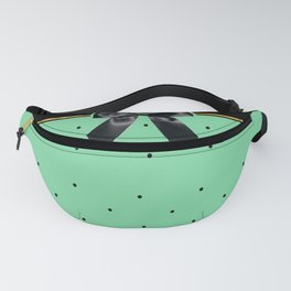 Black Tie Affair: Teal Fanny Pack