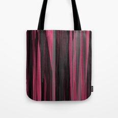 Pink and black Streaks Tote Bag