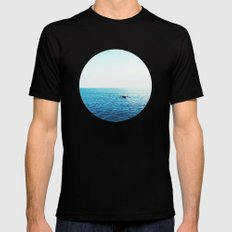 Another through the seasky MEDIUM Mens Fitted Tee Black