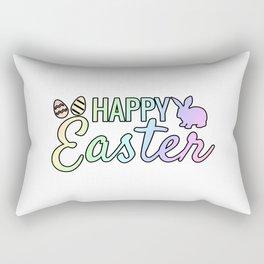 Happy Easter Egg Bunny gift idea Rectangular Pillow