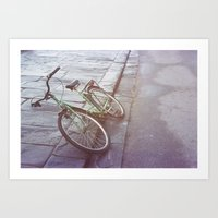 italy Art Prints featuring Italy by chocowithmilk