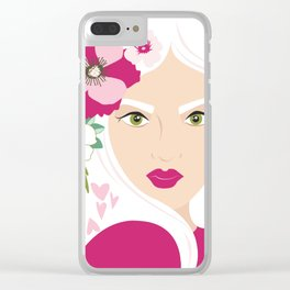 Floral & Feminine - Stunning Clear iPhone Case