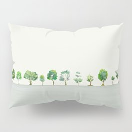 A Row Of Trees Pillow Sham