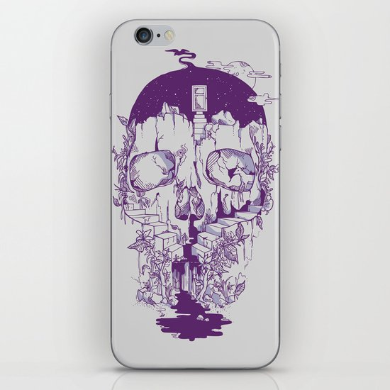 Inside My Head 2.0 iPhone & iPod Skin